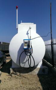 Резервуар подлежащий лицензированию для хранения топлива